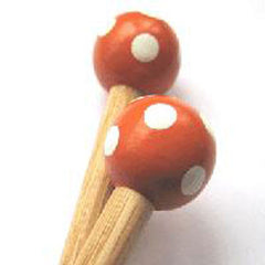 Wooden Knitting Needle 8mm X 38cm