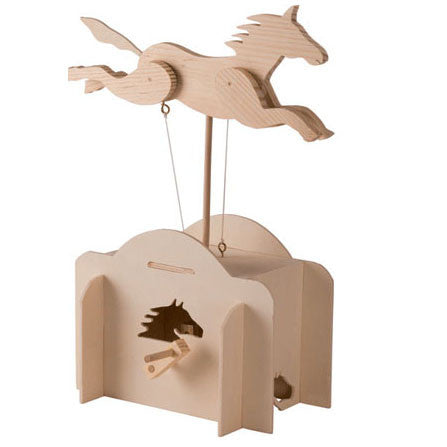 Running Horse Automata Dragonfly Toys