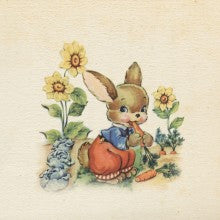 Greeting Card - Bella vintage - Bunny