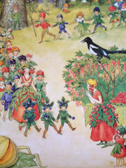 All Around the Year- Elsa Beskow Poster