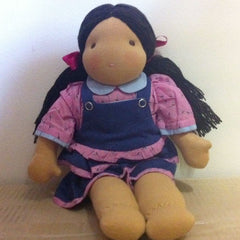 Steiner Girl Doll- Black Hair