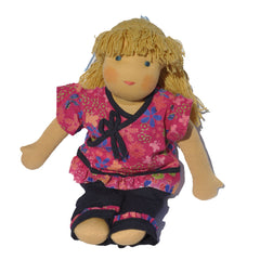 Steiner Girl Doll - Blonde Hair with Fringe