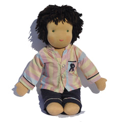 Steiner Boy Doll - Black Hair
