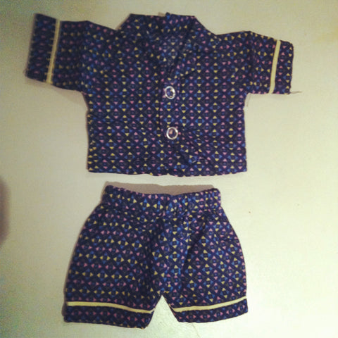 Small Boy's Doll Pyjamas