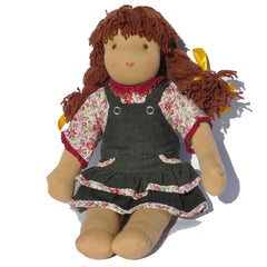 Steiner Girl Doll - Brown Hair with Fringe