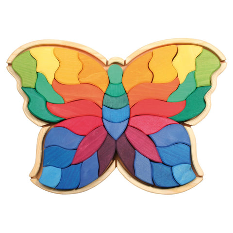 Wooden Butterfly Puzzle