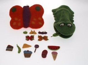Hungry Caterpillar Puppet Set