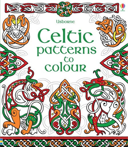 Celtic Pattern Colouring Book