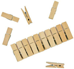 Wooden Pegs for Clothes Horse