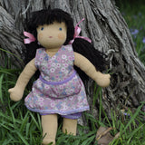 Steiner Girl Doll - Black Hair with Fringe
