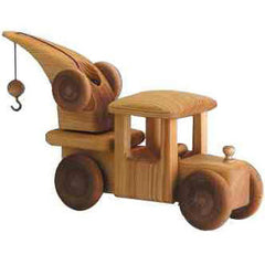 big crane truck, debresk, wooden toy, made in sweden, dragonfly toys