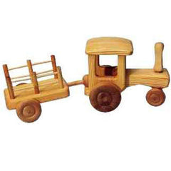Big Tractor With Cart, Dragonflytoys