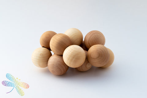 Grimm's Wooden Beads Grasper - 3 colours