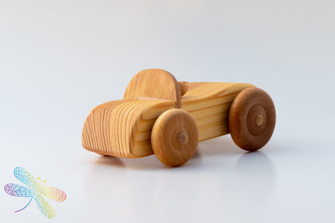 cabriolet, debresk, wooden toy, made in sweden, dragonfly toys