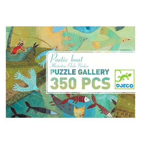 Djeco Puzzle Poetic Boat (350 Pieces)