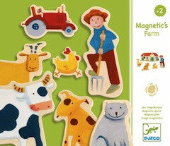 Djeco Magnetic Wooden Farm