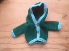 Large  Doll Hooded Jacket