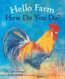 Hello Farm, how do you do, children's board book early reader
