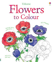 Flowers Colouring Book