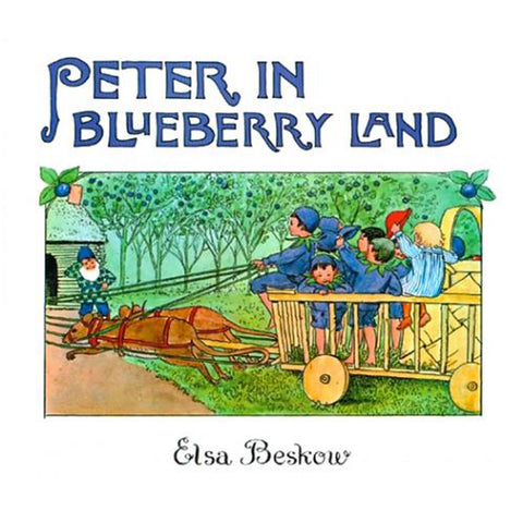 Peter in blueberry land by Elsa Beskow mini edition