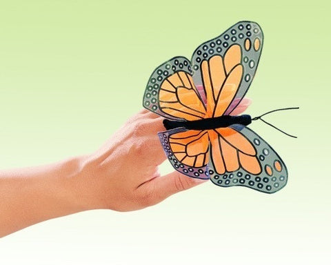 Folkmanis Finger Puppet- Mini Monarch Butterfly