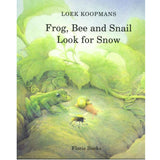 Frog Bee and Snail Look For Snow