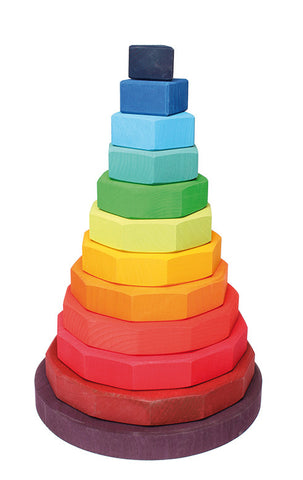 Grimms Geometric Stacking Tower Large