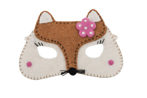 Girl Fox Mask