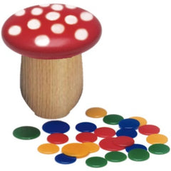 Gluckskafer Tiddlywinks or Flea Jumping Game