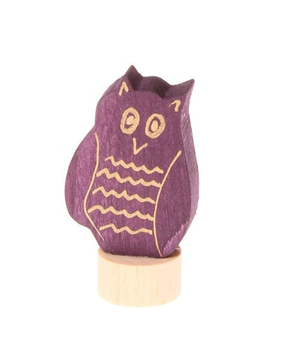 Grimms Birthday and Advent Ring Decoration - Owl