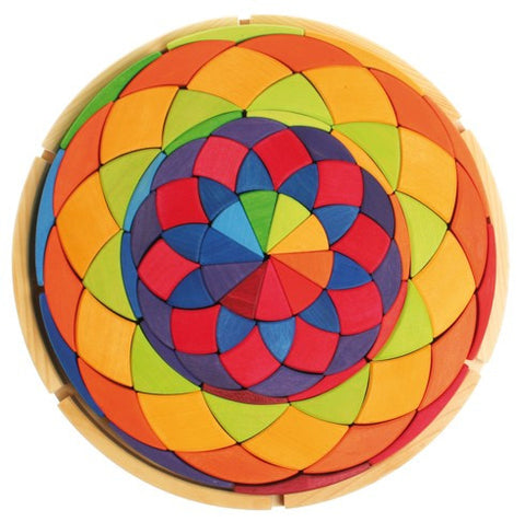 Large Circle Auris Wooden Puzzle by Grimms