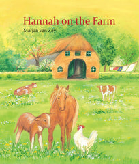 Hannah on the farm, children's first reader board book