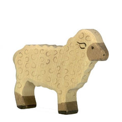 Wooden Sheep Holztiger