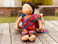 Steiner Doll- Indian Sari Wearing Girl