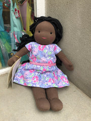 Large Steiner Doll- Afro Girl