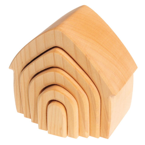 Natural Wooden Nesting Houses