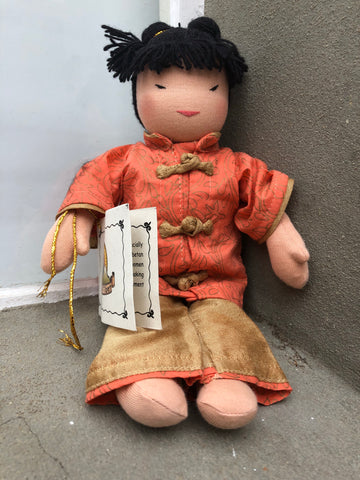 Small Steiner Doll- Chinese girl