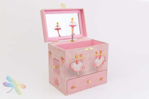 Ballerina Music Box by Enchantmints