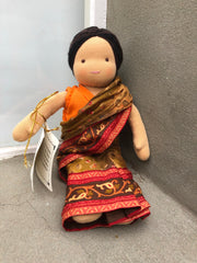 Small Steiner Doll- Indian Girl