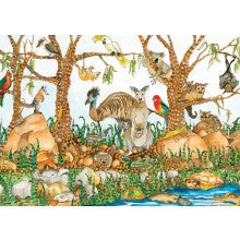 Greeting Card - Jenny Laidlaw - Bush Animals