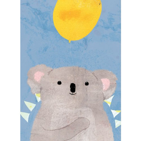 Greeting Card - Koala Balloon JM 70