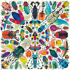Kaleidoscope Beetle Family Puzzle (500) Pieces by Mudpuppy  Dragonflytoys