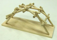Da Vinci Bridge Wooden Kit
