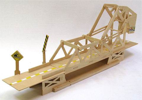 Strauss Trunnion Bascule Bridge Wooden Kit