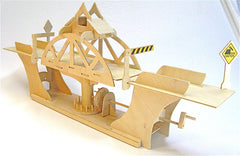 Truss Design Swing Bridge