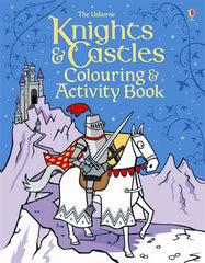 Knights and Castles Colouring Book
