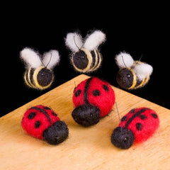 Ladybugs felting kit