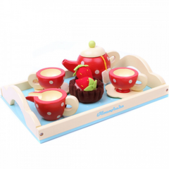 Wooden Tea Set by Honeybake