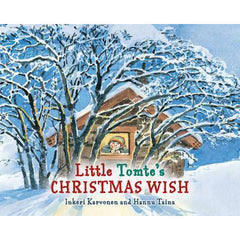 Little Tomte's Christmas Wish   illustrated christian story book for kids