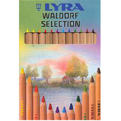 Lyra Waldorf selection pencils for first drawers